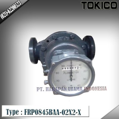 Flow Meter TOKICO For Oil Type FRP0845BAA-02X2-X (Non Reset Counter) Size 3 inch(DN80mm)
