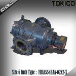 FLOW METER TOKICO TYPE FRA1554BAA-02X2-X (NON RESET) SIZE 6 INCH (150MM)