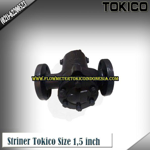 Flow Meter Tokico Type Strainer/Saringan Tokico size 1,5 Inch (DN40mm)