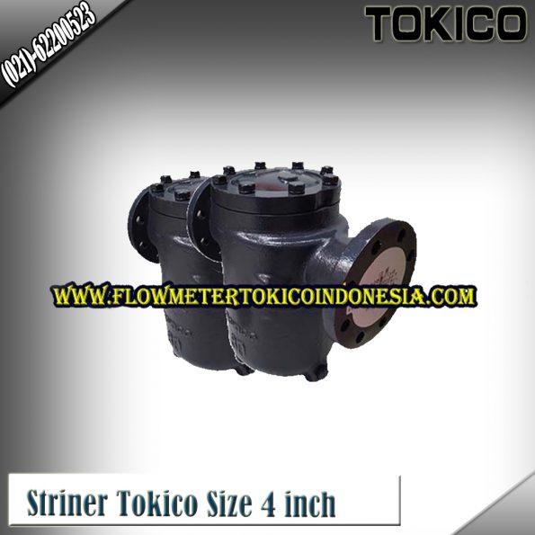 Flow Meter Tokico Type Strainer/Saringan Tokico size 4 Inch (DN100mm)
