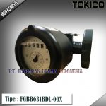 Flow Meter TOKICO For Oil Type FGBB631BDL-00X(Non Reset Counter) Size 3/4 inch(DN20mm)