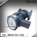 Flow Meter TOKICO For Oil Type Adjuster (Reset Counter) Size 2 inch (DN50mm)