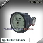 Flow Meter TOKICO For Oil Type FGBB423BAL- 02X (Non Reset Counter) Size 1/2 Inch DN15mm)