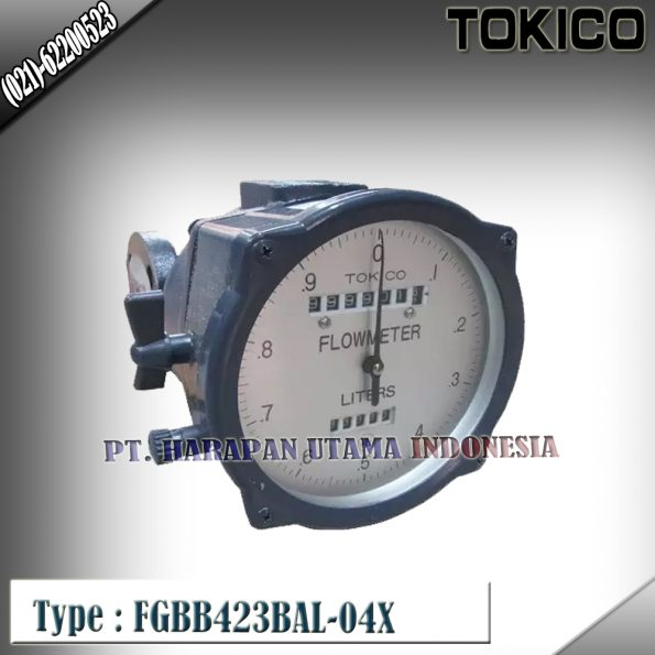 Flow Meter TOKICO For Oil Type FGBB423BAL-04X (Reset Counter) Size 1/2 inch (DN15mm)