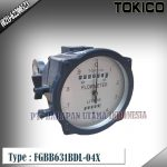 Flow Meter TOKICO For Oil Type FGBB631BDL-04X (Reset Counter) Size 3/4 inch (DN20mm)