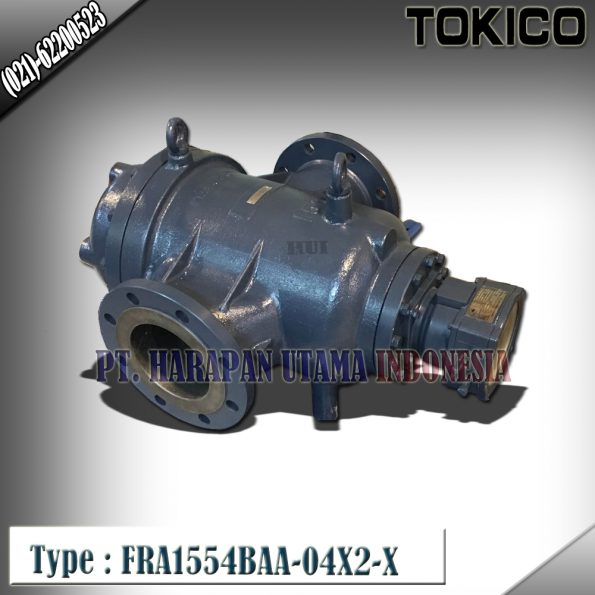Flow Meter TOKICO For Oil Type : FRA1554BAA-04X2-X (Reset Counter) Size 6 inch (DN150mm)
