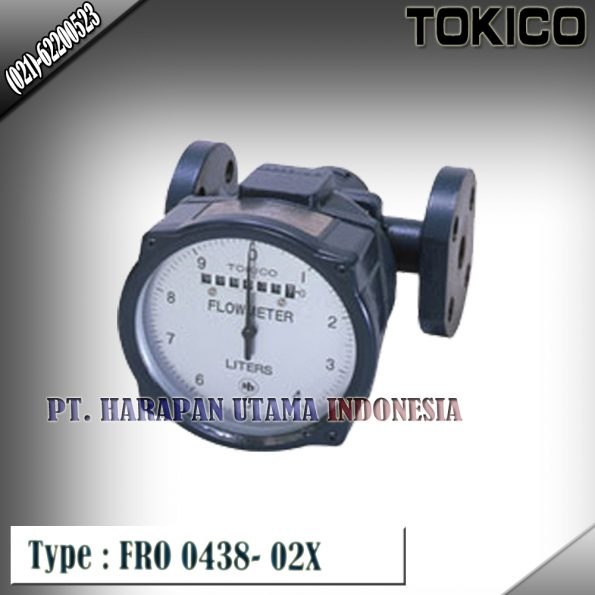 Flow Meter TOKICO For Oil Type : FRO 0438-02X (Non Reset) Size 1 1/2 inch (DN40mm)